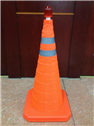 70cm PP Collapsible traffic cone