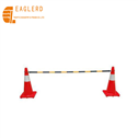 Double Extend Plastic traffic cone bar, cone connection