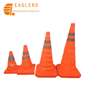 45cm PP Collapsible traffic cone