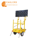 solar mobile construction guard signs