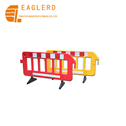 Removable Temporary Portable Plastic Traffic Barrier for Road Safety