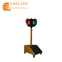 300mm 1 Layer Solar Mobile Portable Traffic Light