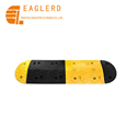 1000*380*45mm Rubber Speed Bump for Roadway Safety