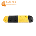 1000*380*45mm Rubber Speed Bump for Roadway Safety500*300*45mm Road Safety Car Rubber Speed Bump