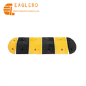 250*350*50mm Reflective Rubber Speed Bump for Road Safety