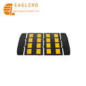 600*500*32mm Reflective Rubber Speed Bump