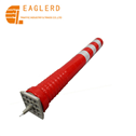 Removable Tidal Plastic Reflective Flexible Warning Post