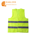 High Visibility traffic Warning Road safety reflective safety vest