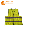 Class 2 knitted high visibility Yellow Reflective road safety vest
