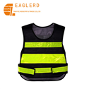 Reflective vest with high visibility reflective tape for road safety