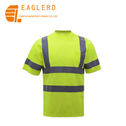 Reflective safety vest T-shirt for road safety