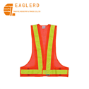 Reflective mesh safety vest for road safety