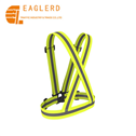 Wholesale Safety reflective Vest Fluorescent Yellow Running Vest