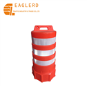 1000mm PE traffic barrel for roadway safety