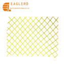 55*55mm diamond mesh yellow plastic safety fence