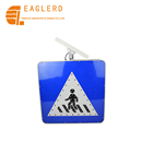 Solar Reflective Square Road Safety LED Traffic Sign