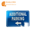 Rectangle additional parking aluminum traffic sign with reflective sheeting